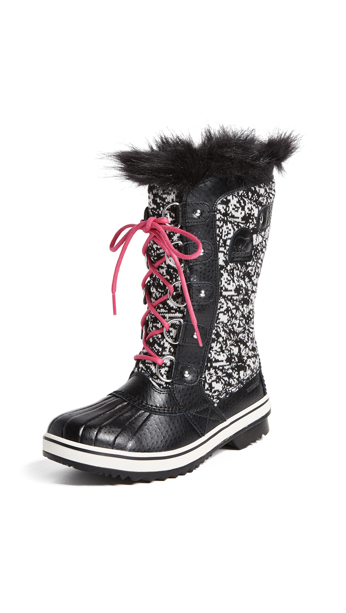 Sorel Tofino II Boots - Black/Deep Blush