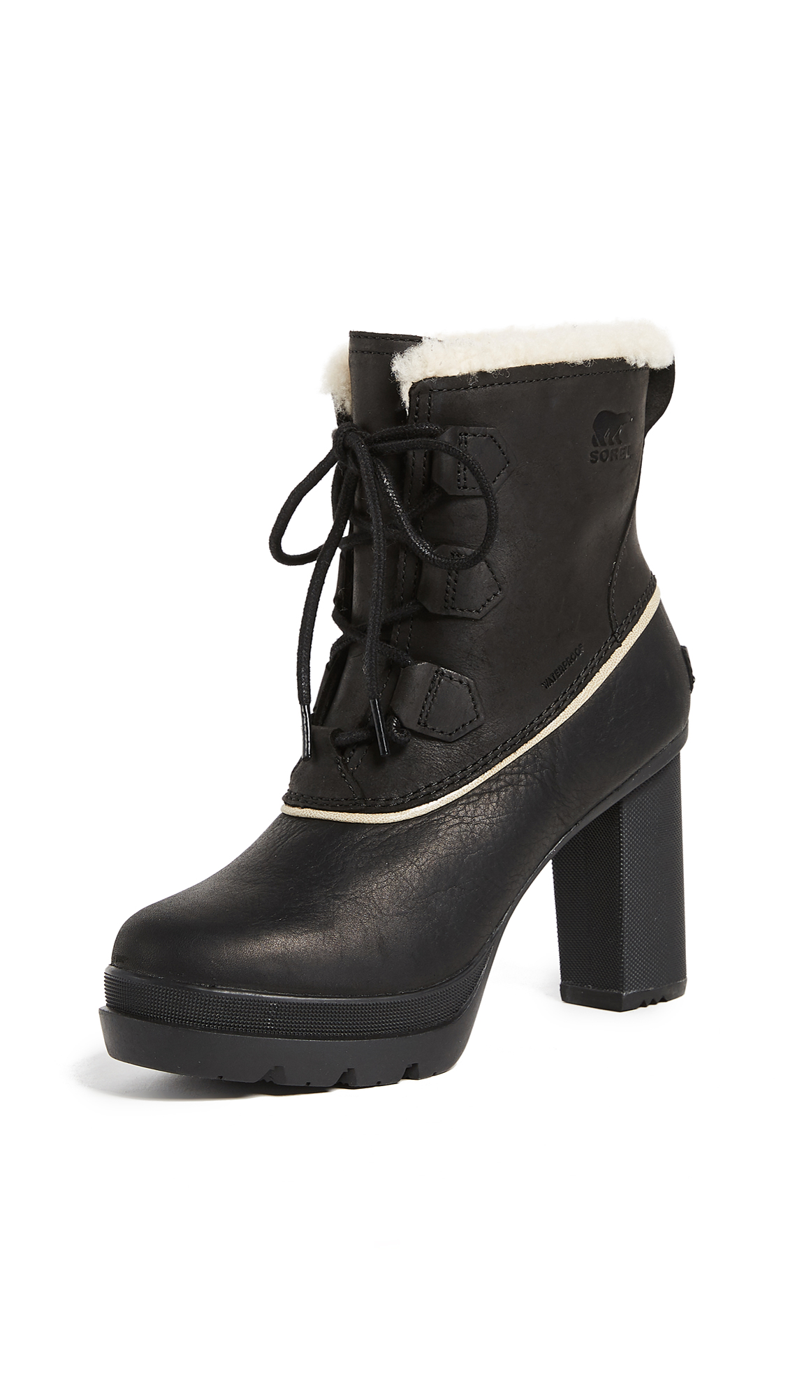 Sorel Dacie Lace Booties - Black