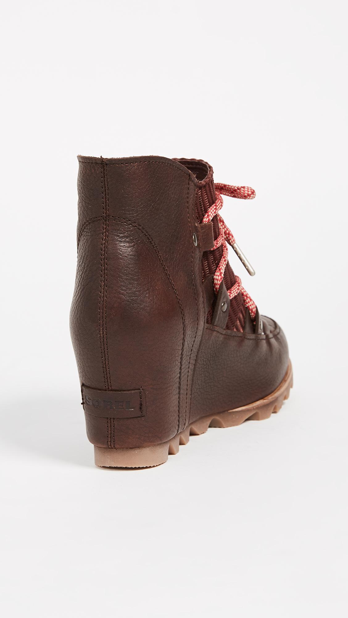 Sorel Sandy Wedge Booties Shopbop D Island Shoes Style Hikers Dm Mens Leather Cokelat