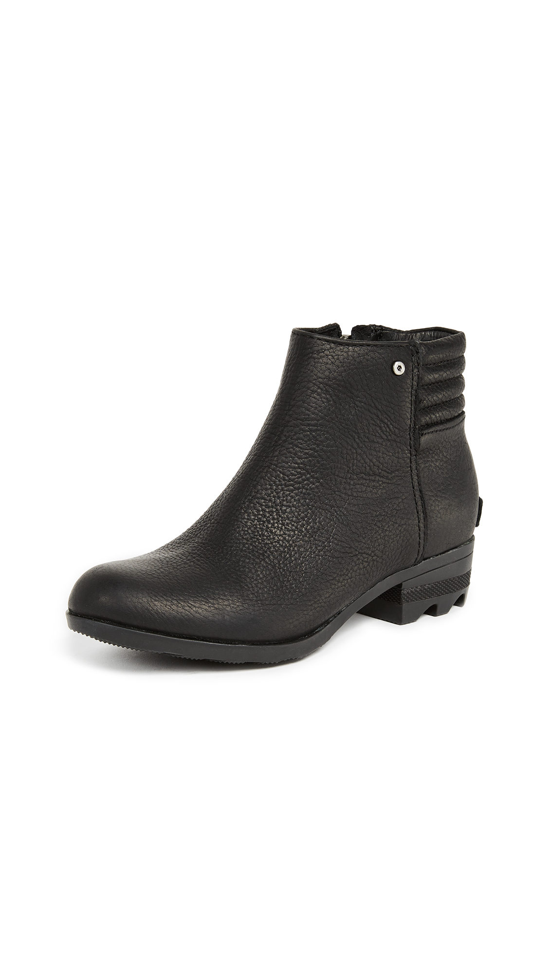Sorel Danica Short Booties - Black/Quarry