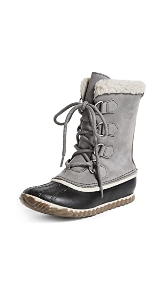 Sorel Caribou Slim Boots In Quarry