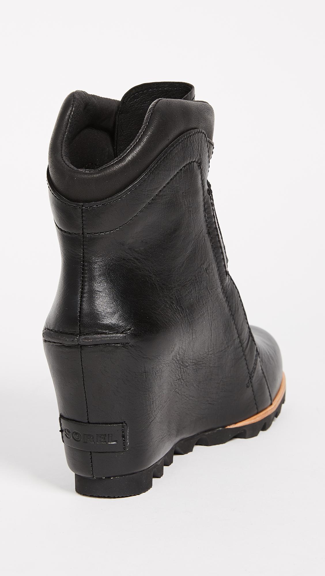 Sorel Conquest Wedge Black, Dark Grey 37 EU (6 US / 4 UK)