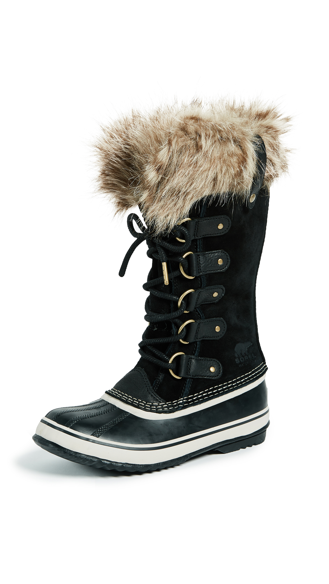 Sorel Joan of Arctic Boots - Black/Stone