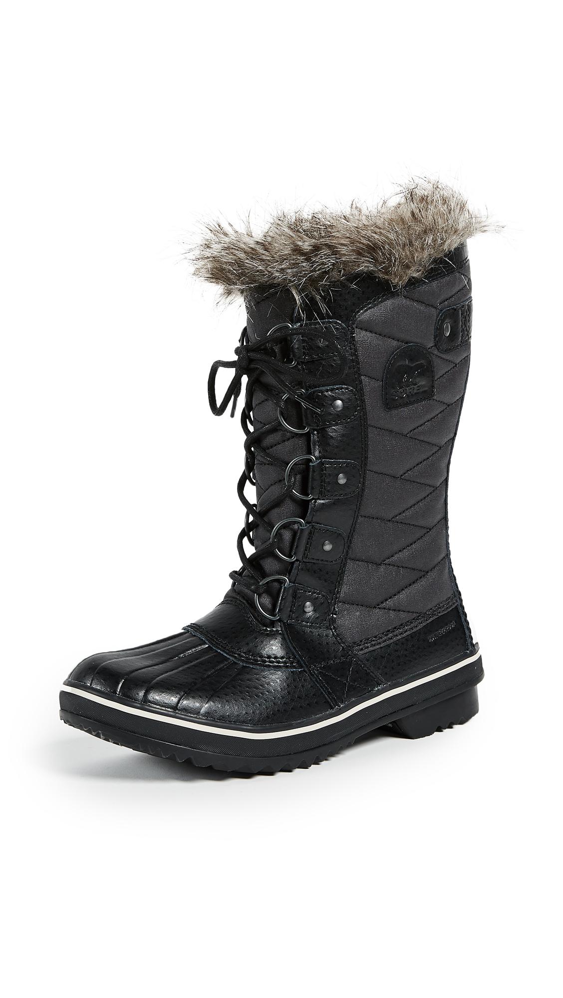 Sorel Tofino II Boots - Black/Stone