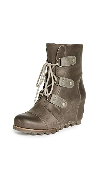 Sorel Joan of Arctic Wedge Boots In Kettle