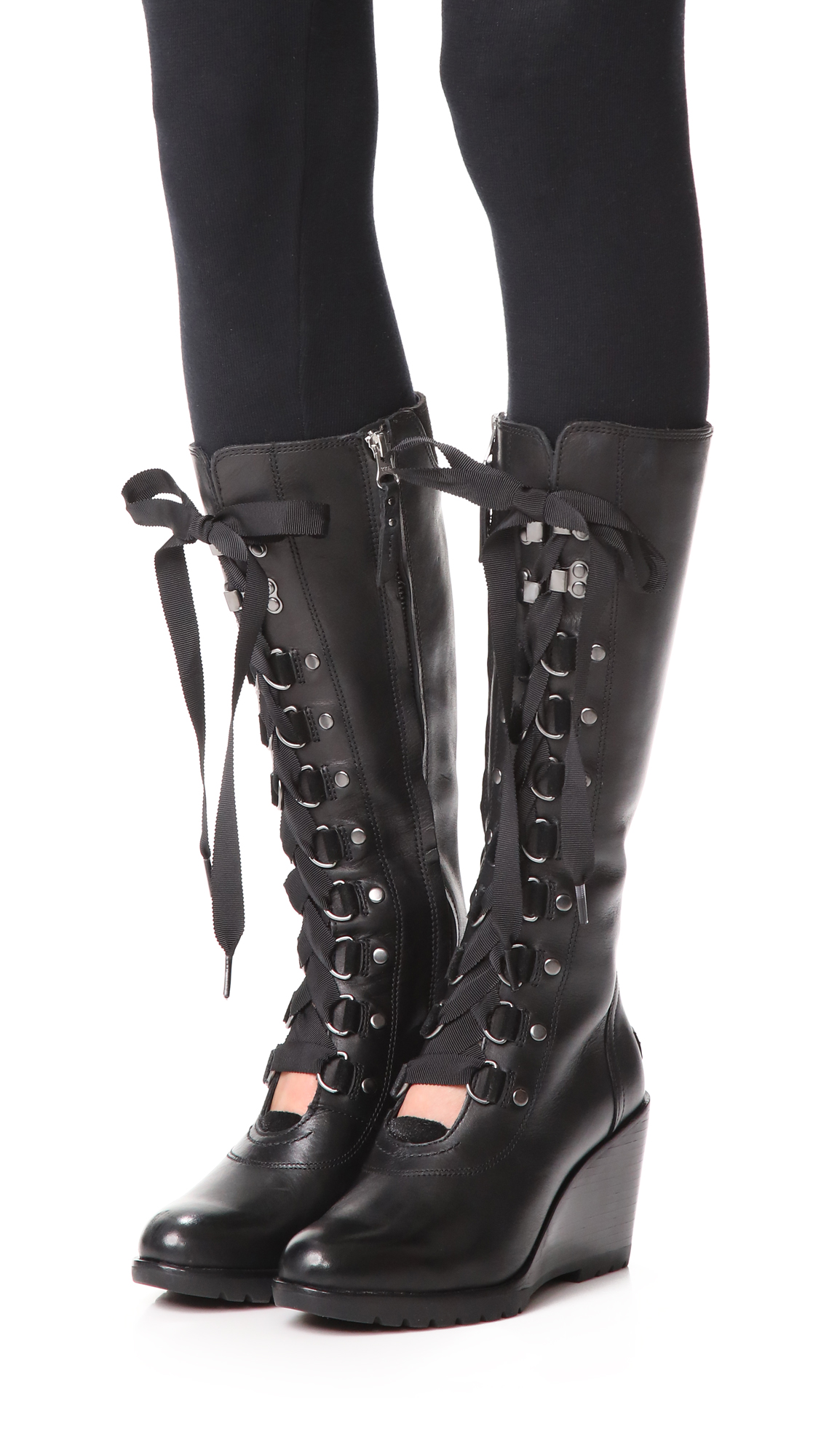 28378465228 Sorel After Hours Tall Wedge Boots