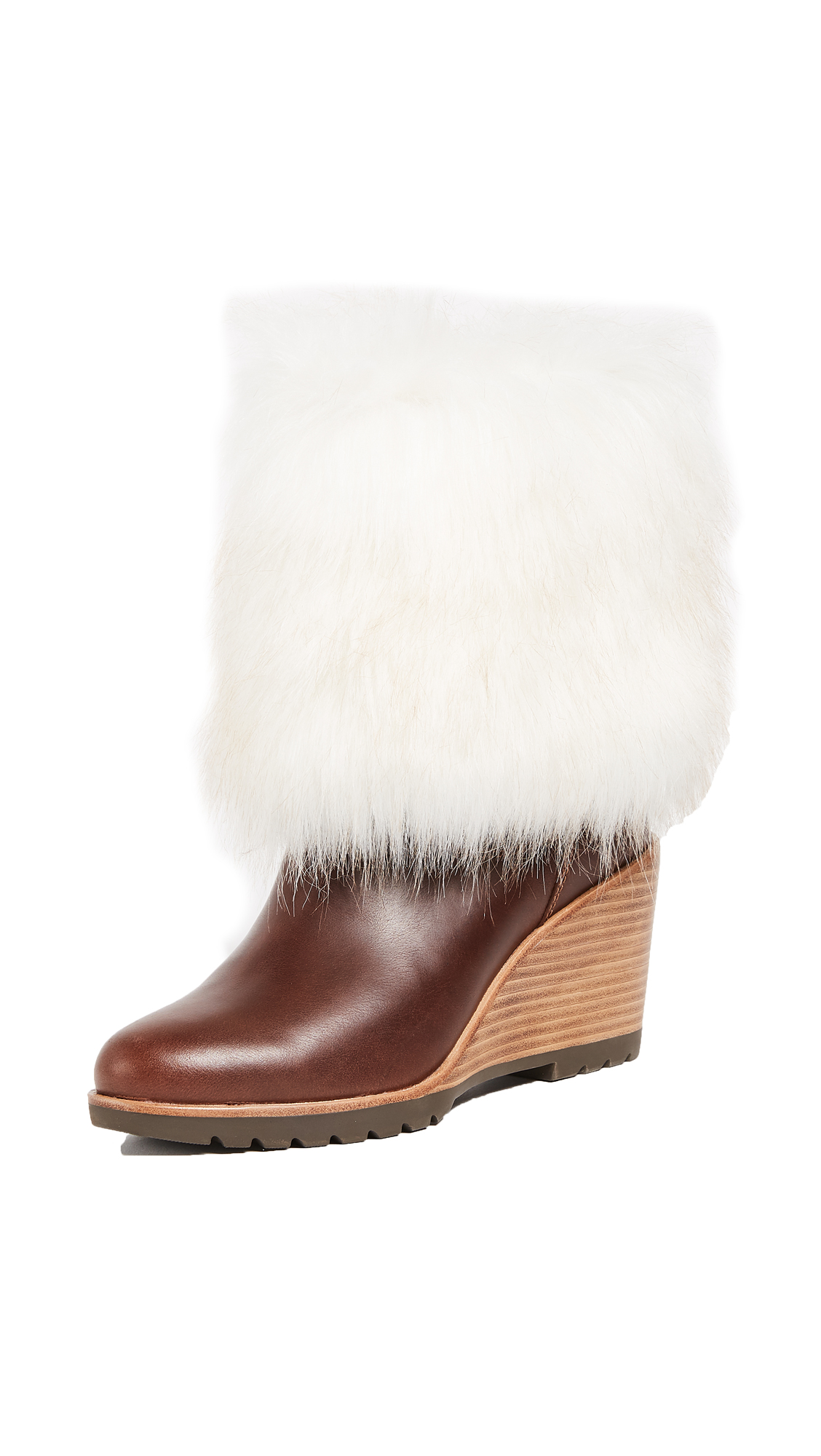 Sorel Park City Short Wedge Booties - Elk