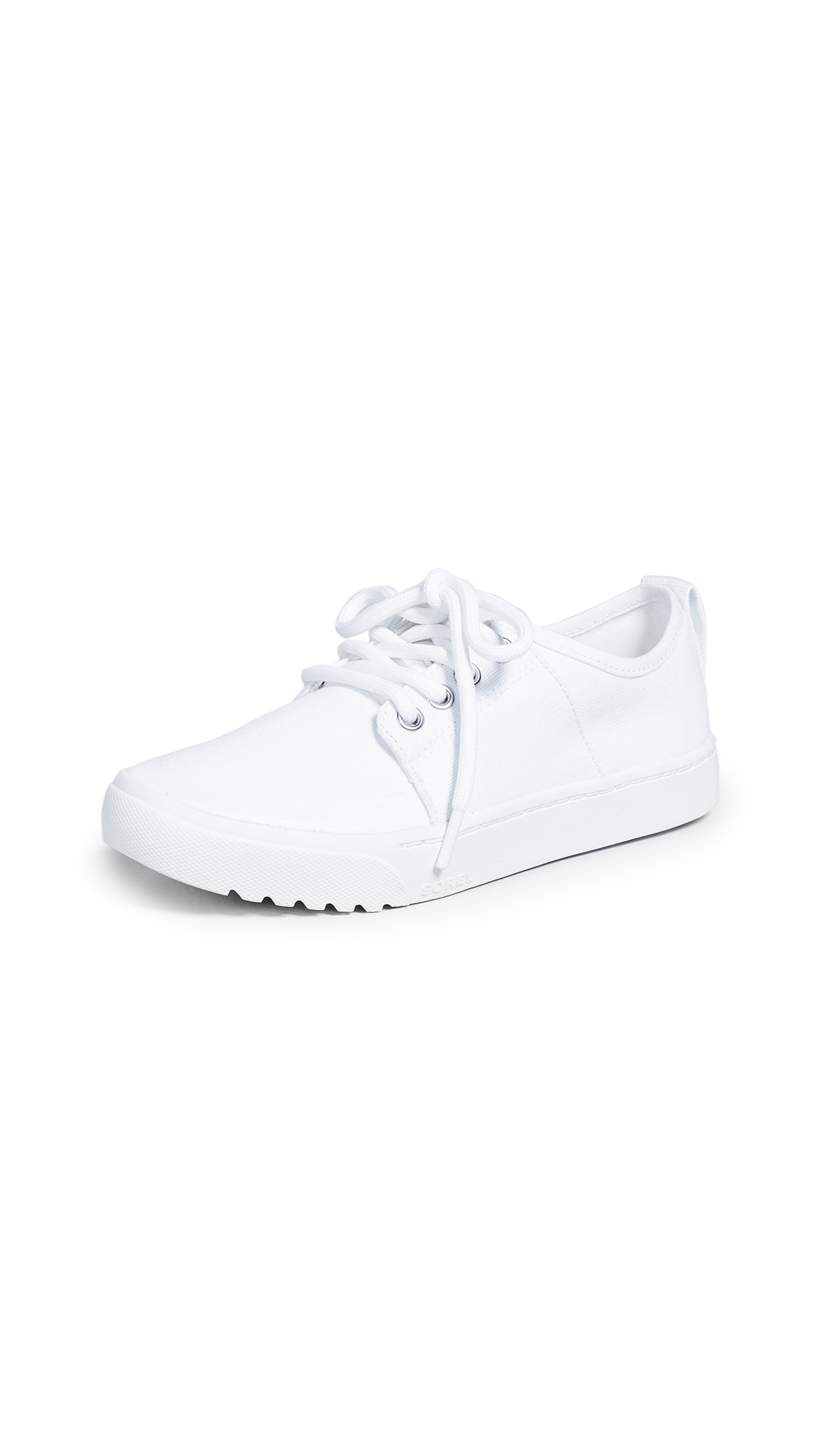 Sorel Campsneak Lace Up Sneakers - White