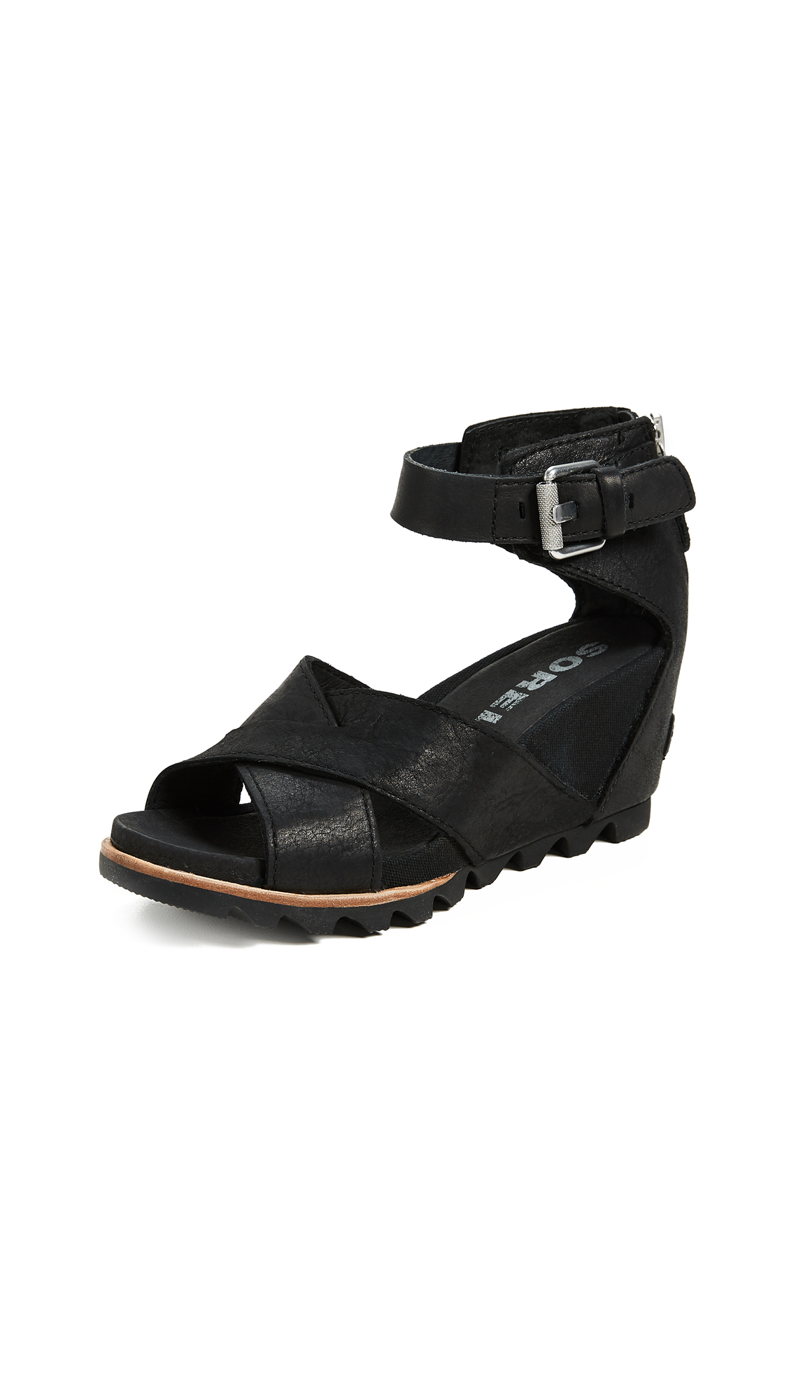 Sorel Joanie II Sandals - Black