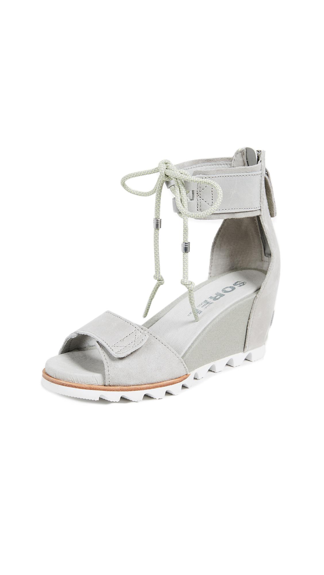 Sorel Joanie Ankle Lace Sandals - Dove