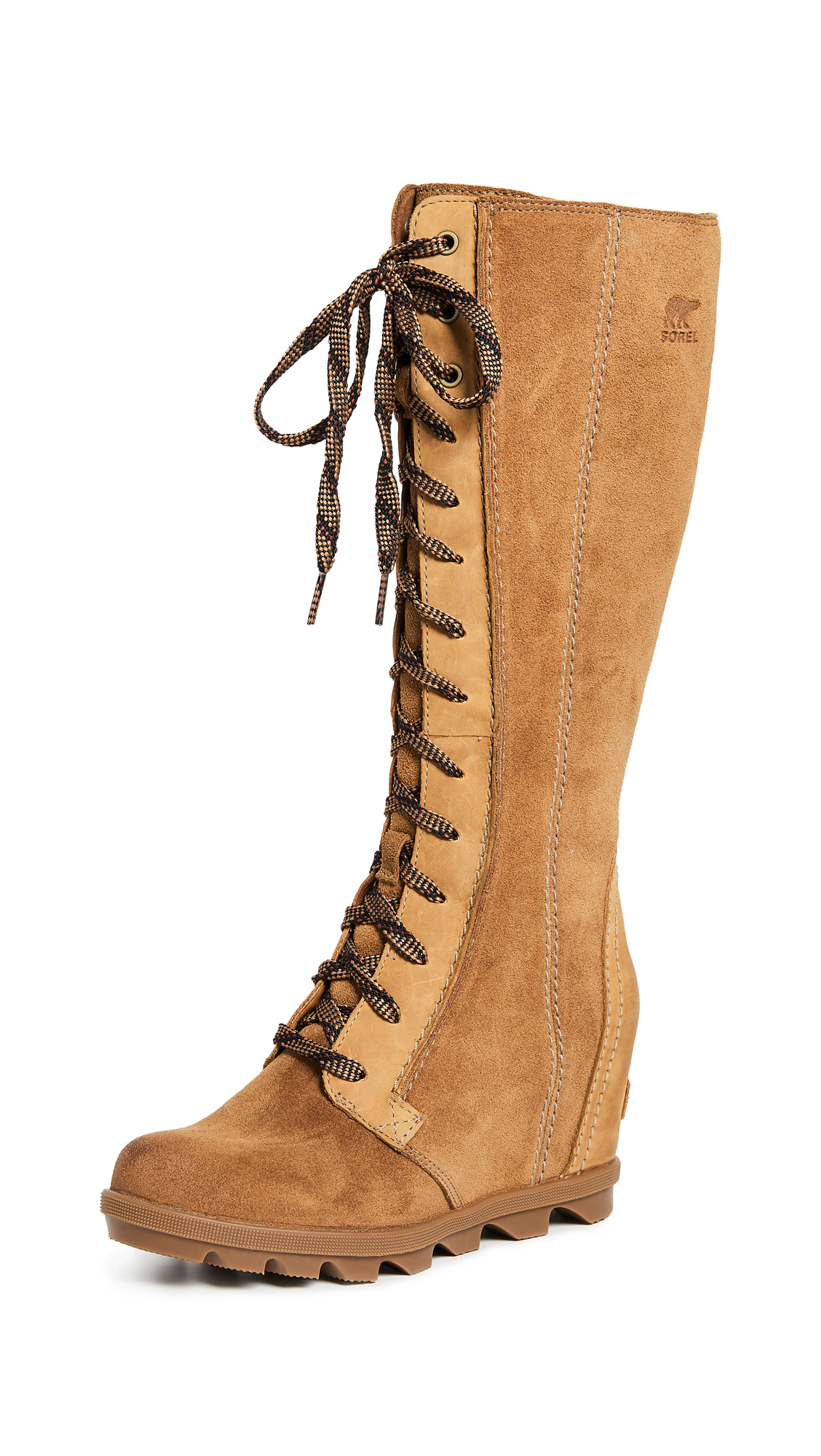Sorel Joan Of Arctic Wedge II Tall Boots - Camel Brown