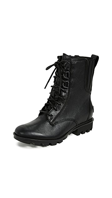 Photo of  Sorel Phoenix Lace Boots- shop Sorel Boots, Flat online sales