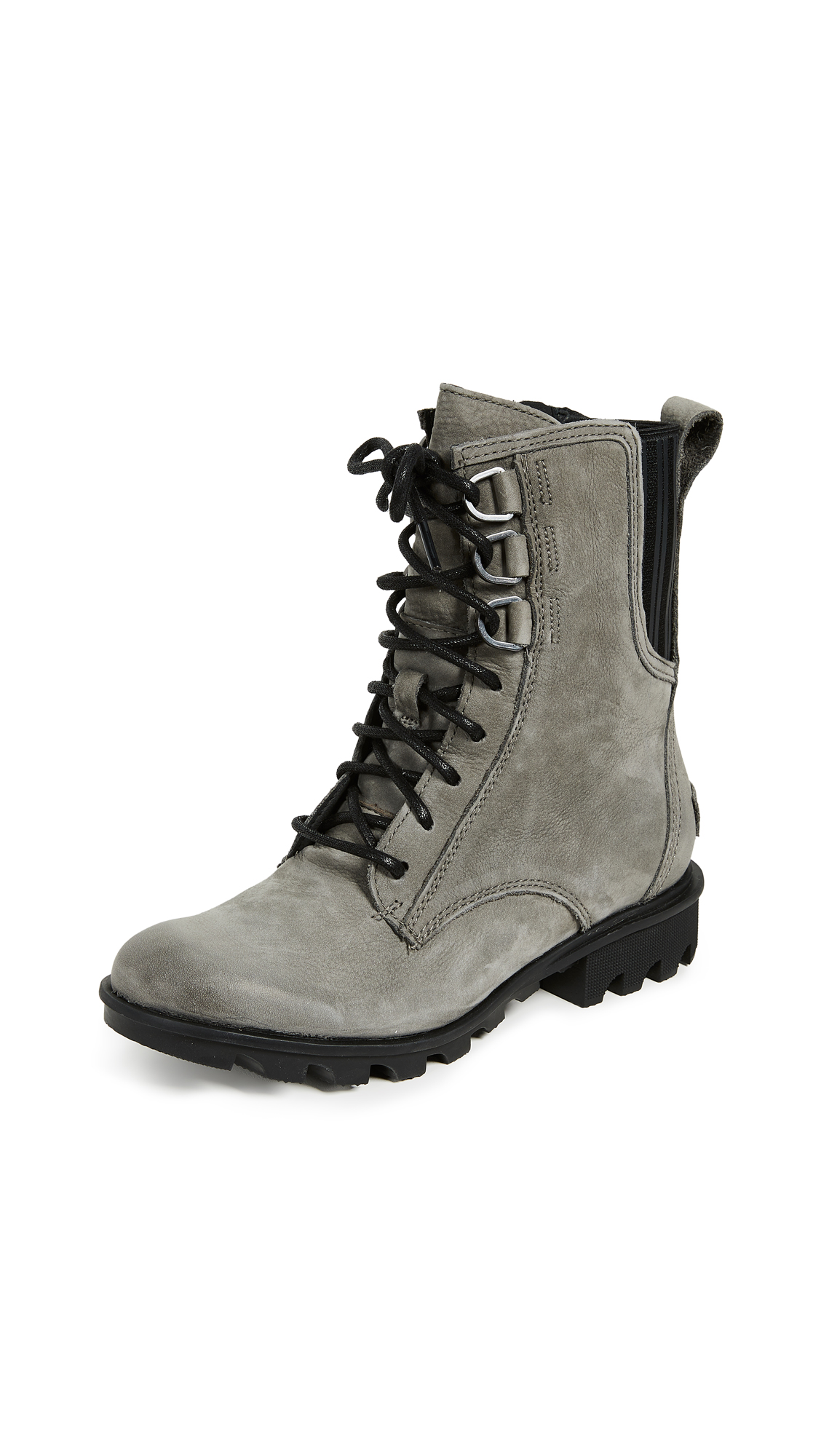 Sorel Phoenix Lace Boots - Nubuck/Quarry