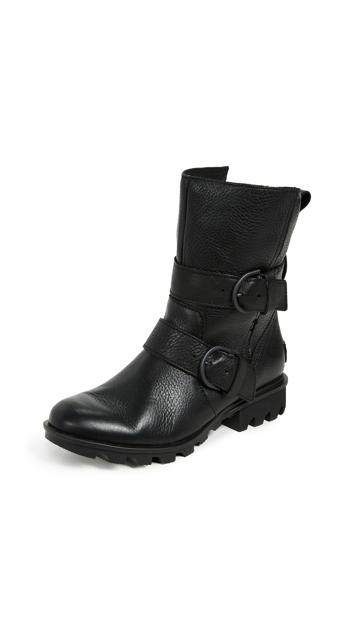 Sorel Phoenix Moto Boots - Black