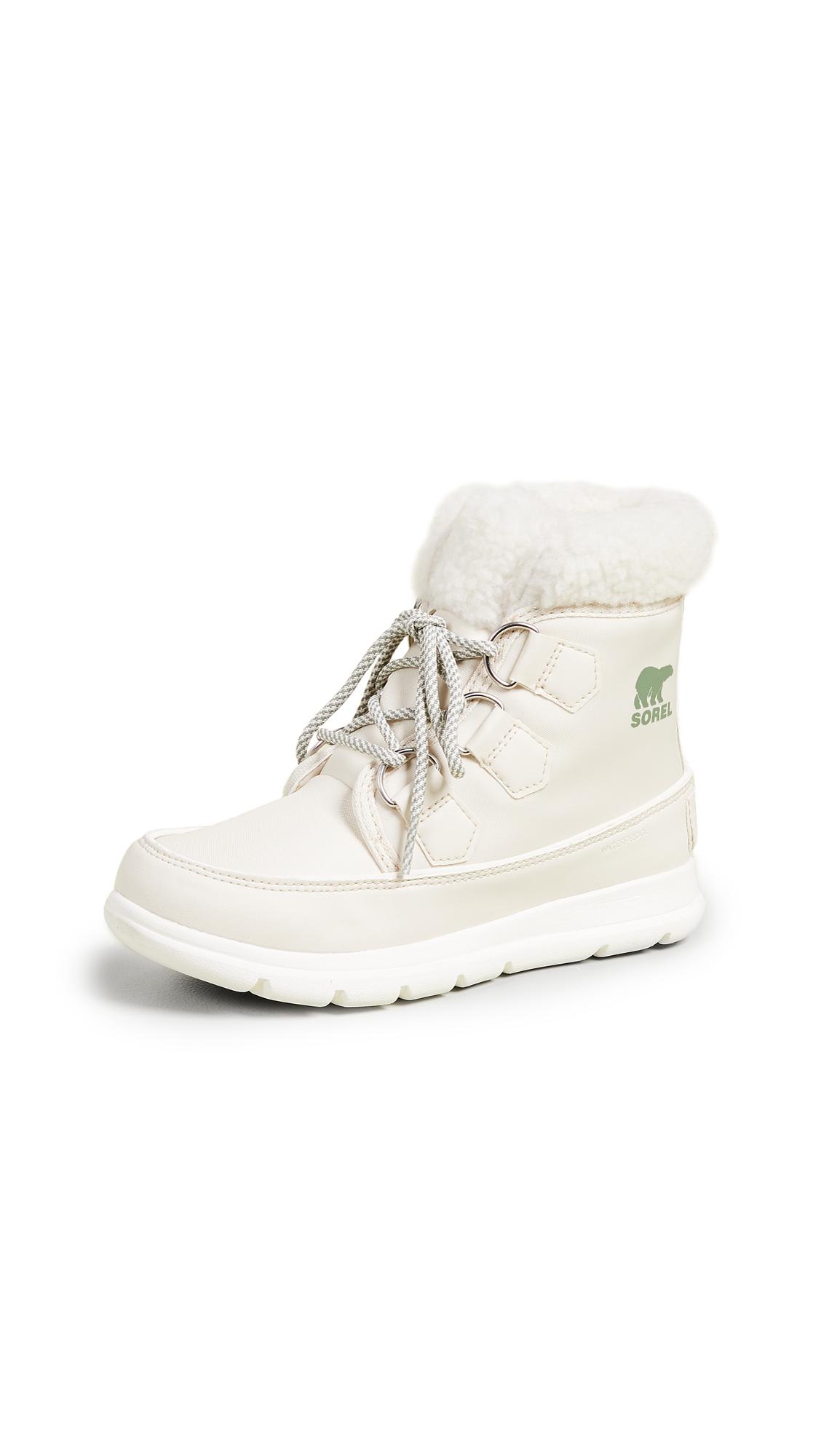 Sorel Sorel Explorer Carnival Boots - Fawn/Sea Salt