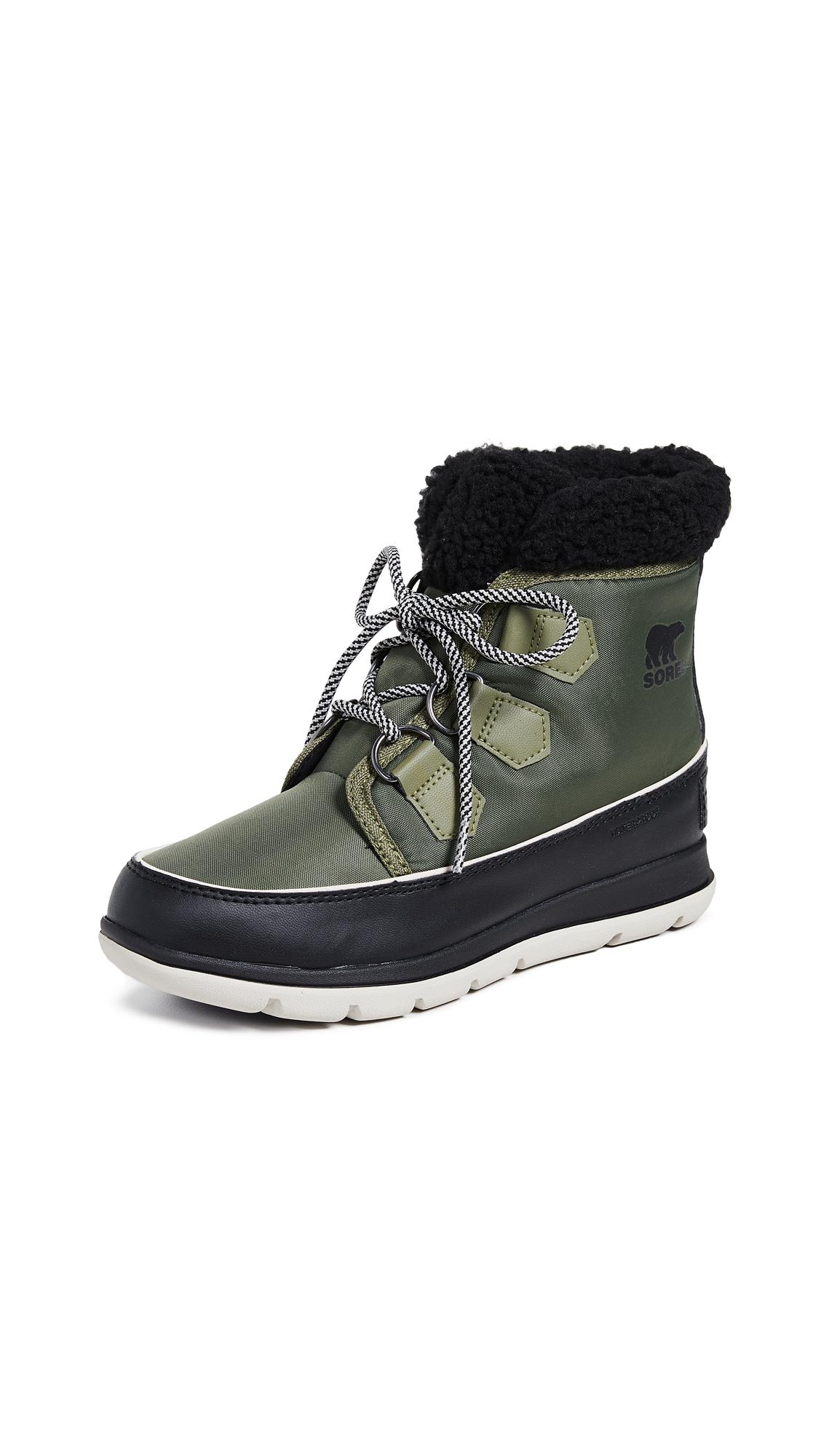 Sorel Sorel Explorer Carnival Boots - Hiker Green/Black