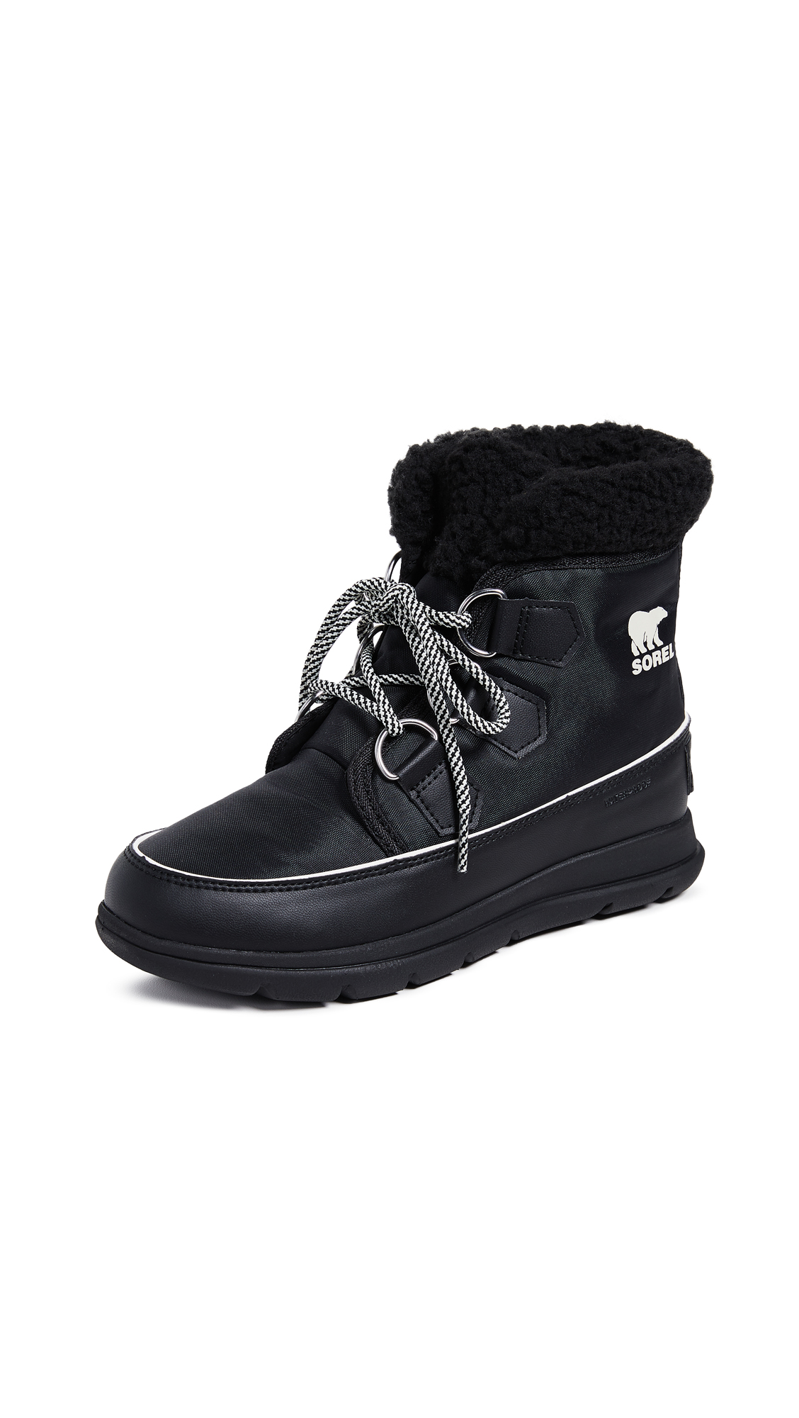 Sorel Sorel Explorer Carnival Boots - Black/Sea Salt