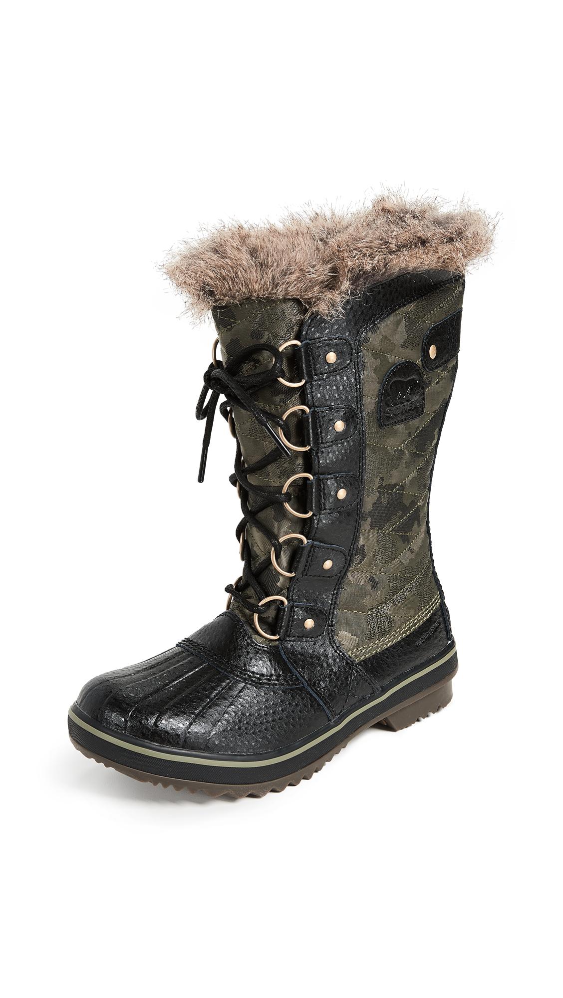 Sorel Tofino II Boots - Camo/Hiker Green