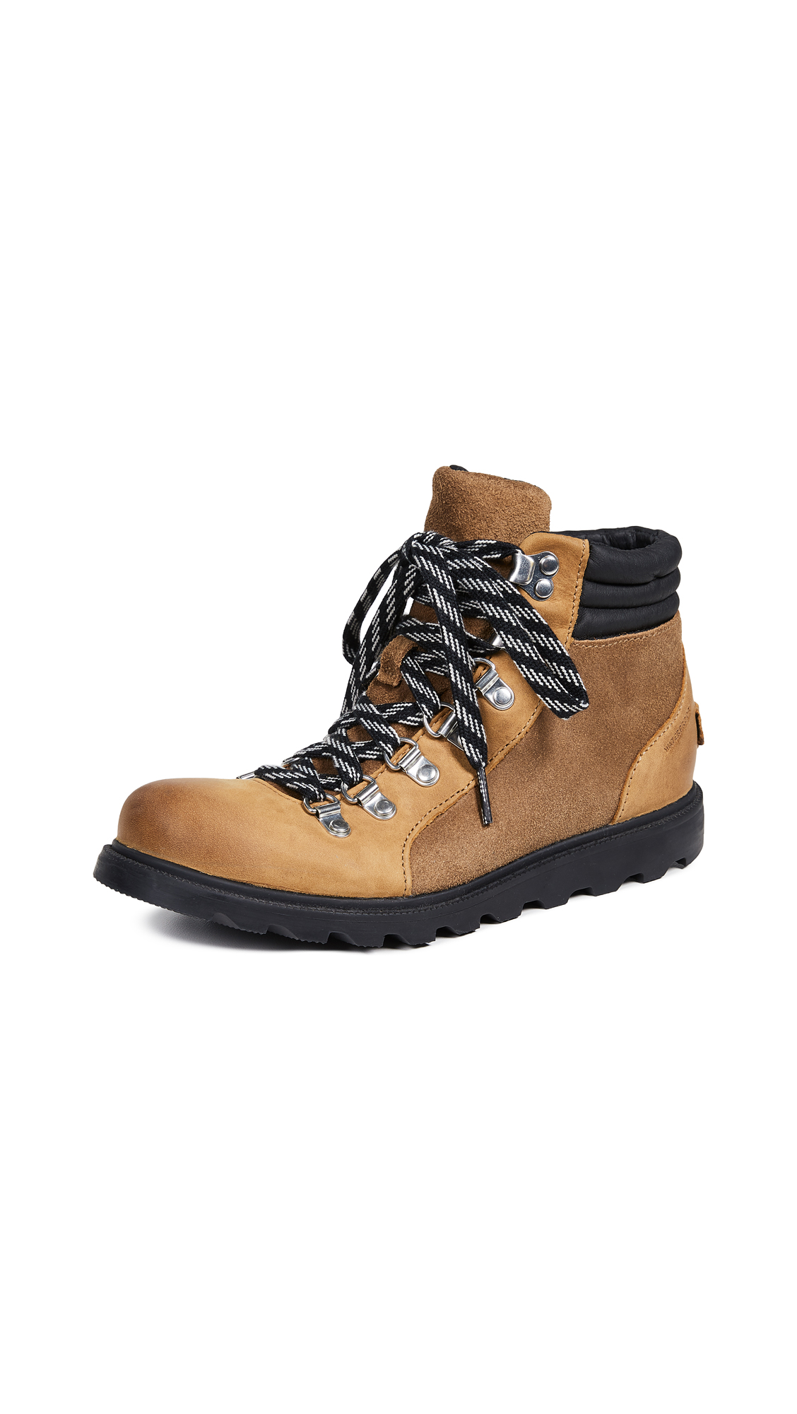 Sorel Ainsley Conquest Boots - Camel Brown/Black