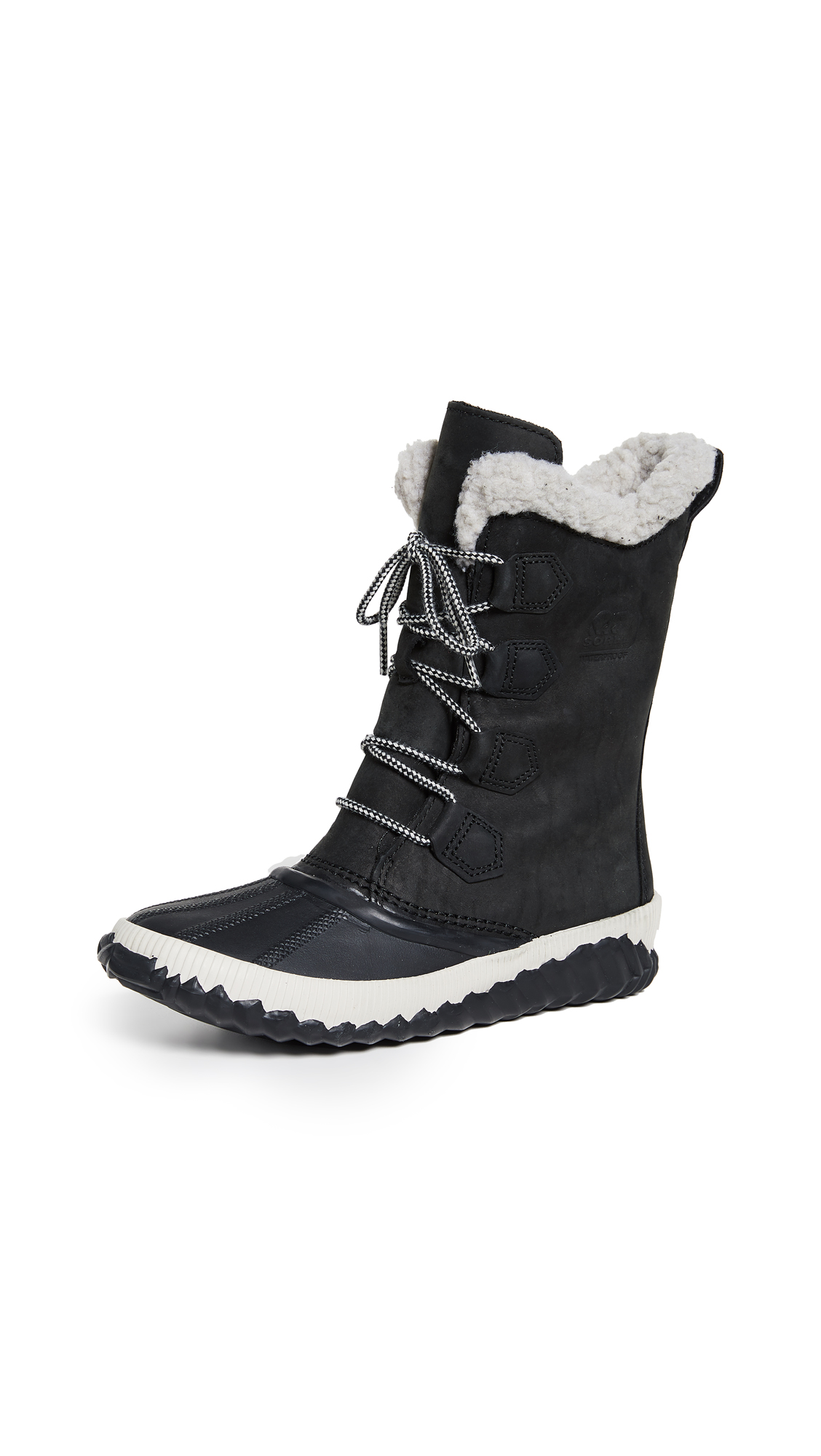 Women'S Out N About Plus Waterproof Cold-Weather Boots in Black