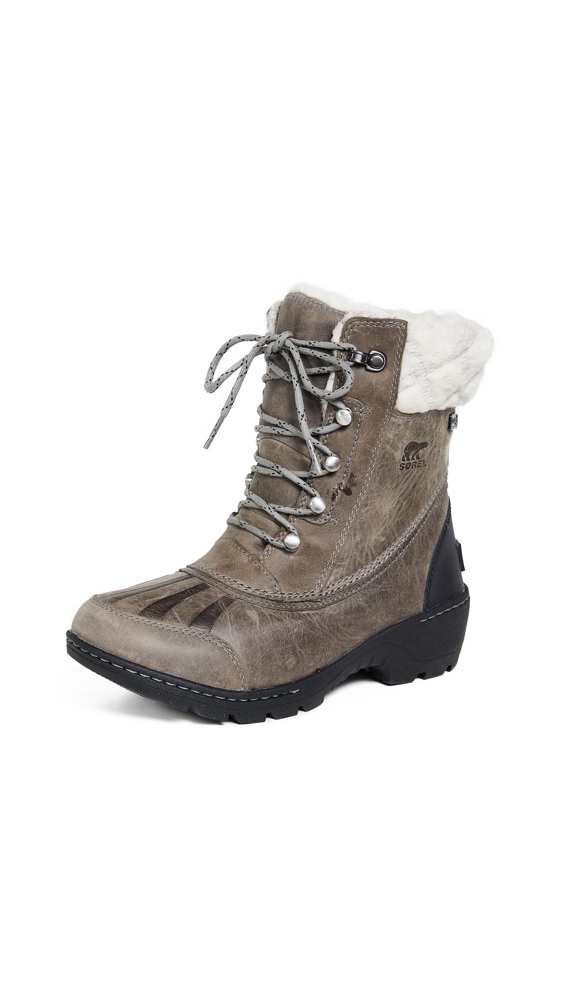 Sorel Whistler Mid Boots - Quarry/Black