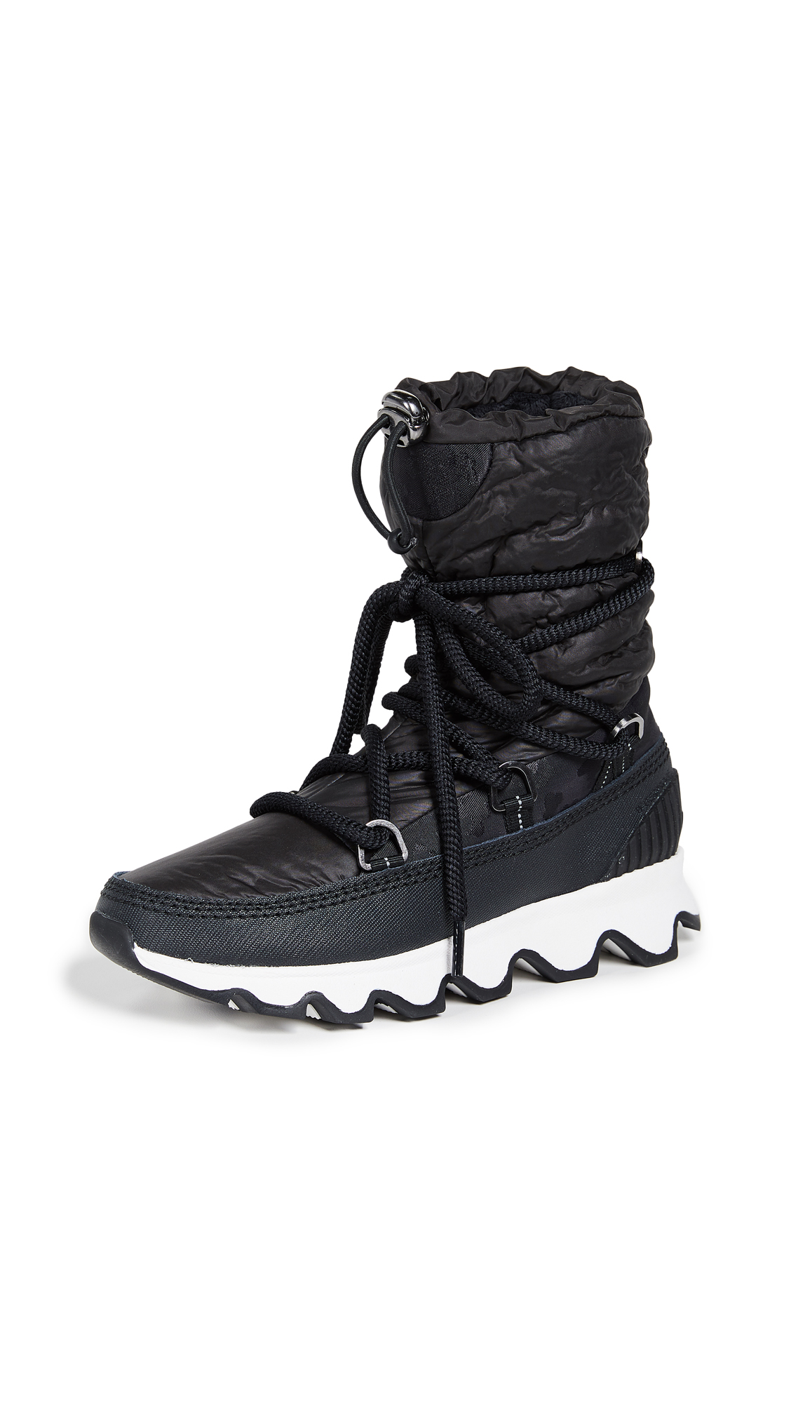Sorel Kinetic Boots - Camo-Black/White