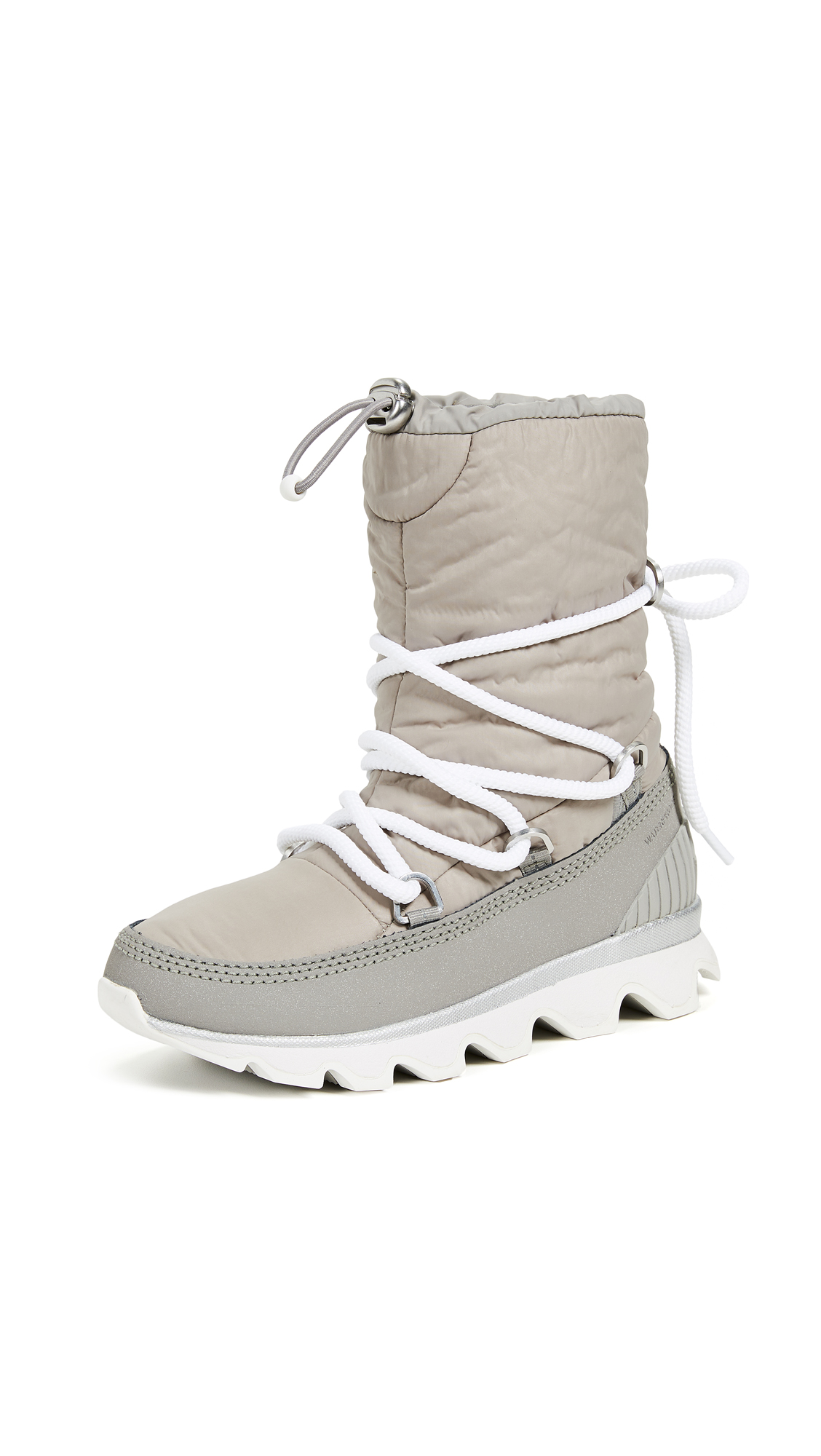 Sorel Kinetic Boots - Glitter/Chrome Grey/White