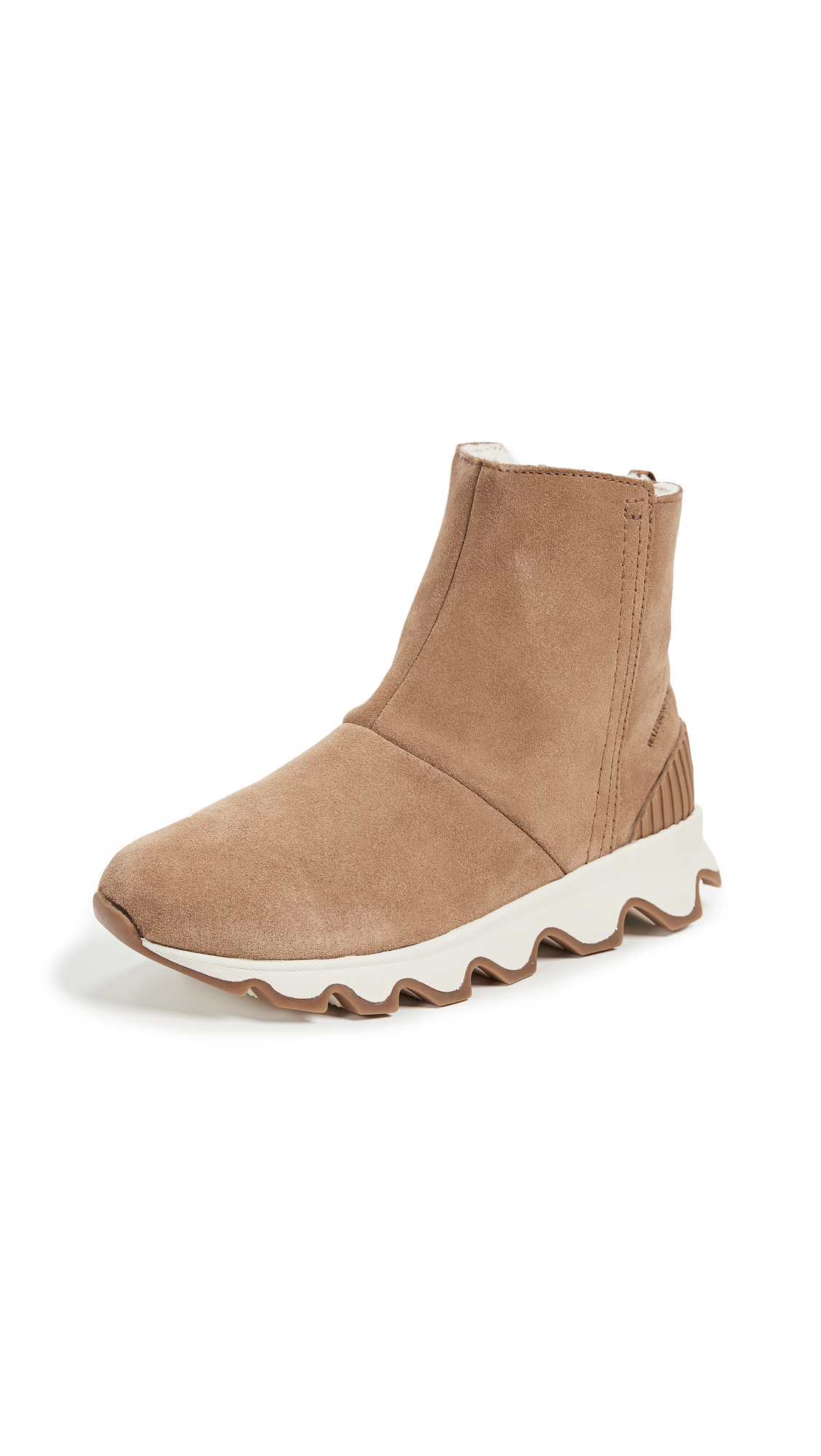 Sorel Kinetic Short Booties - Camel Brown