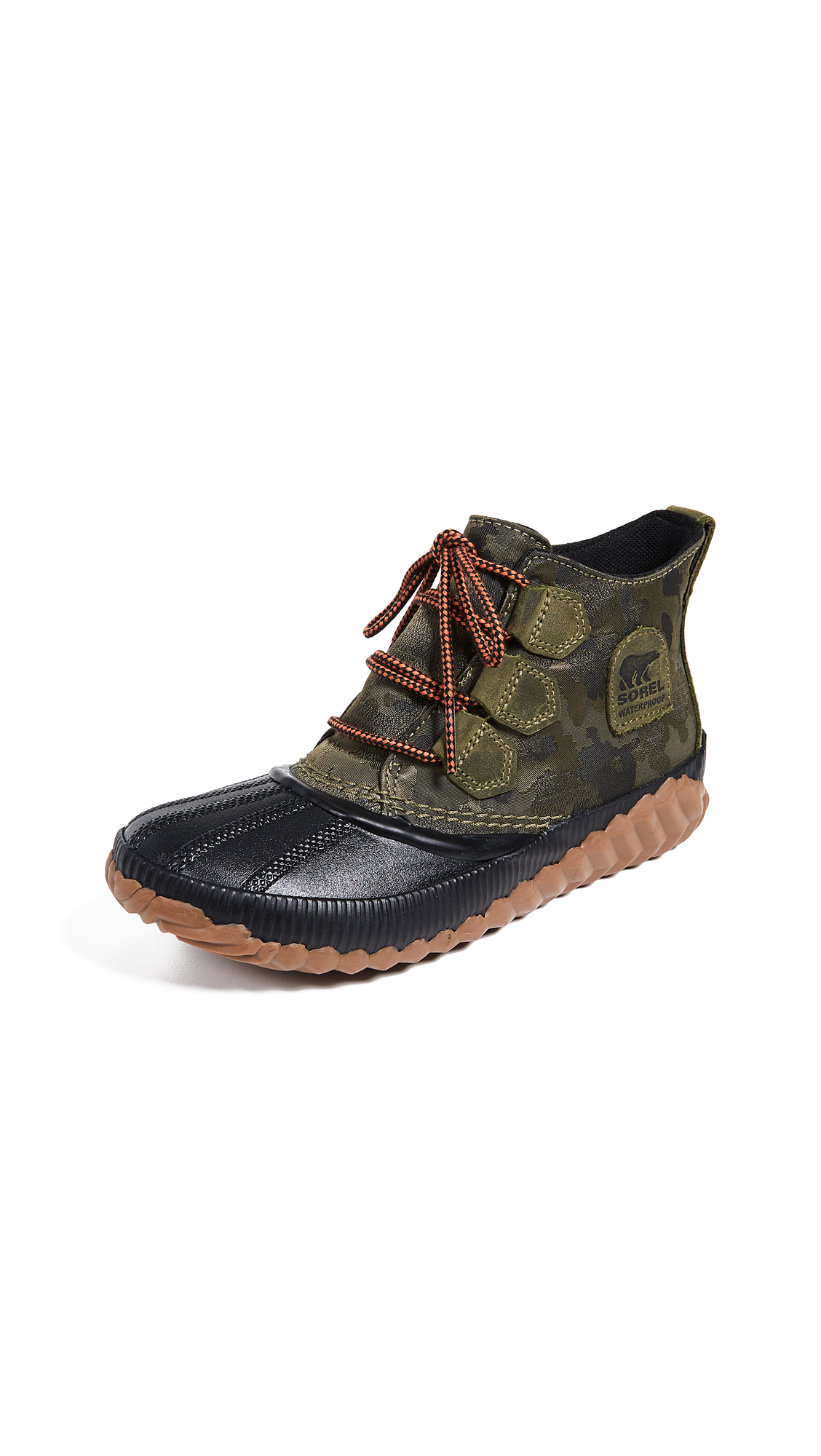 Sorel Out N About Plus Boots - Camo/Hiker Green