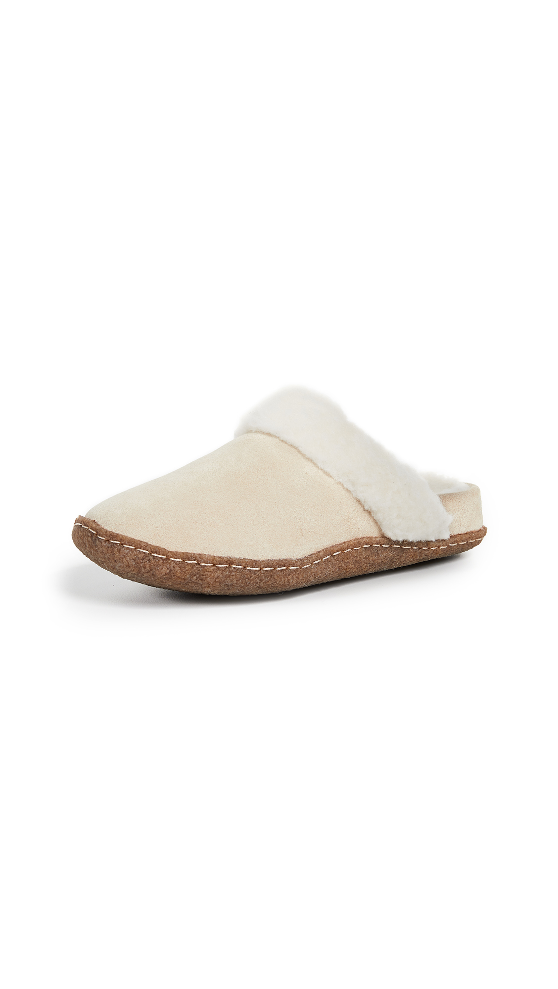 Sorel Nakiska Slide II Slippers - British Tan/Natural