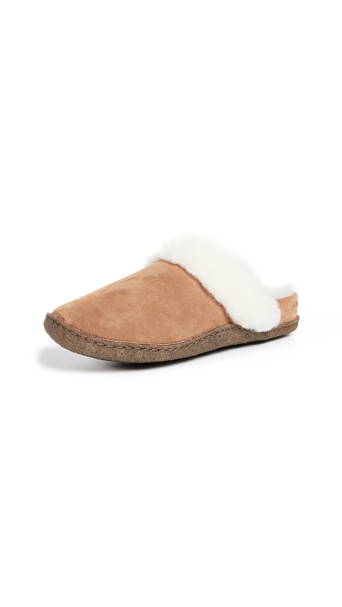 Sorel Nakiska Slide II Slippers - Camel Brown/Natural