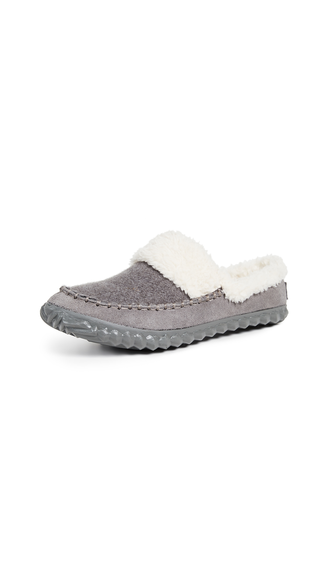 Sorel Out N About Slide Slip On Slippers - Quarry/Natural