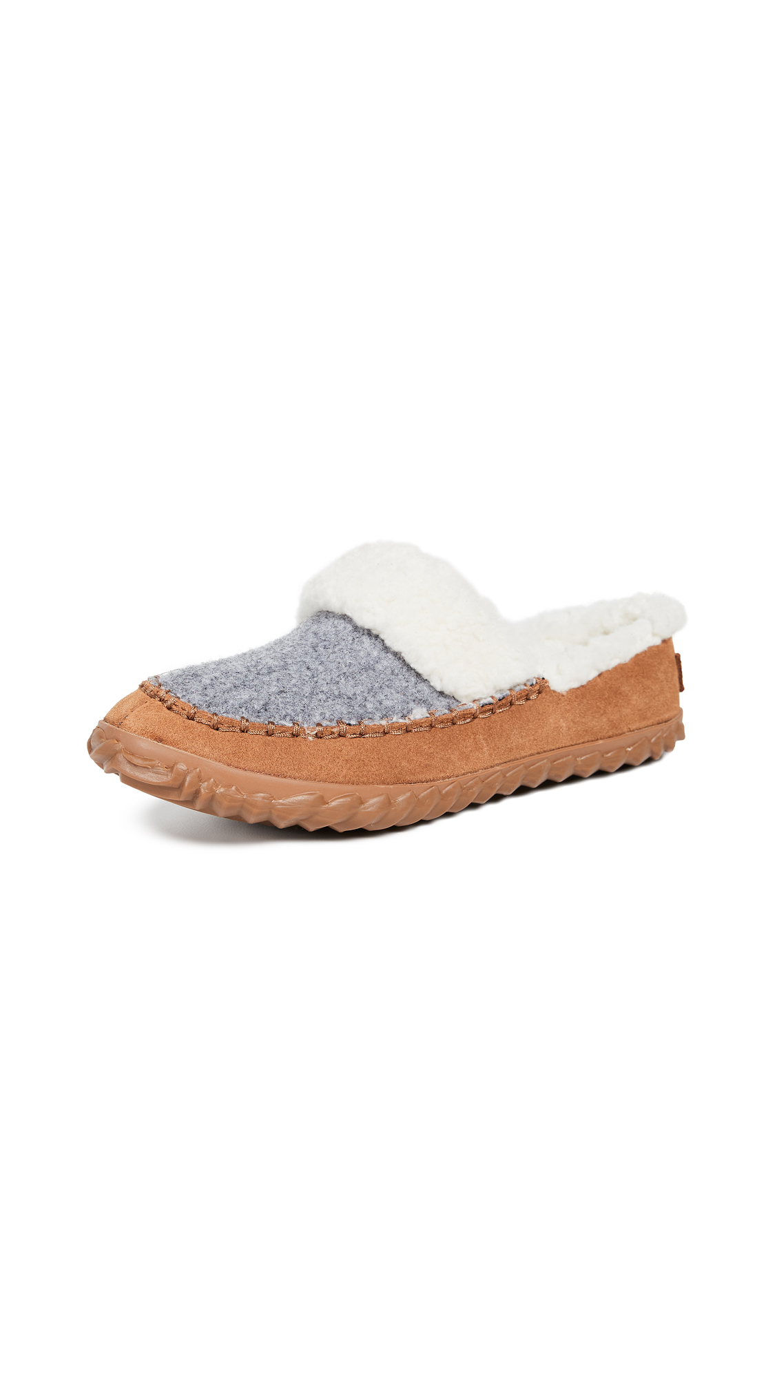 Sorel Out N About Slide Slip On Slippers - Light Grey/Natural