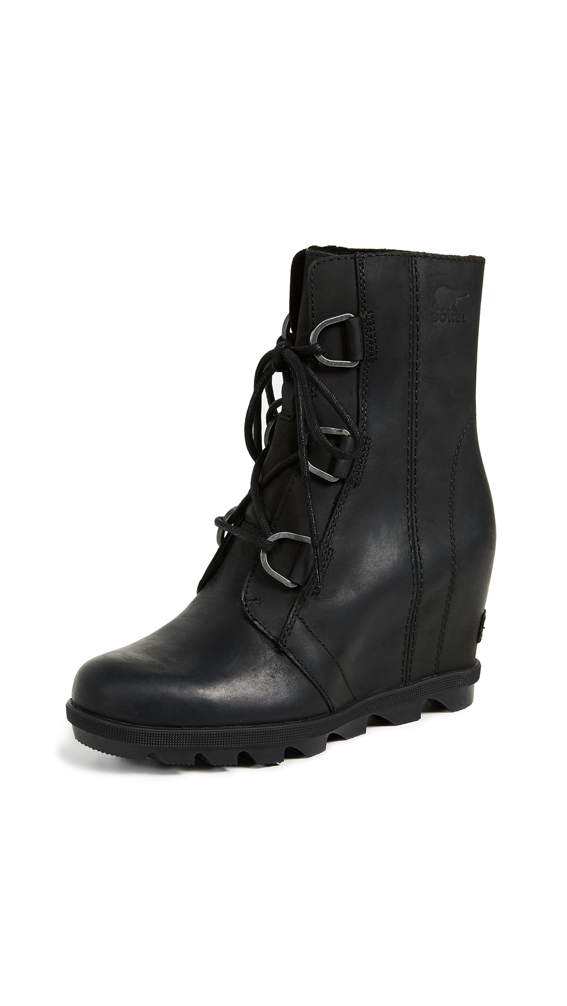 Sorel Joan of Arctic Wedge II Boots - Black
