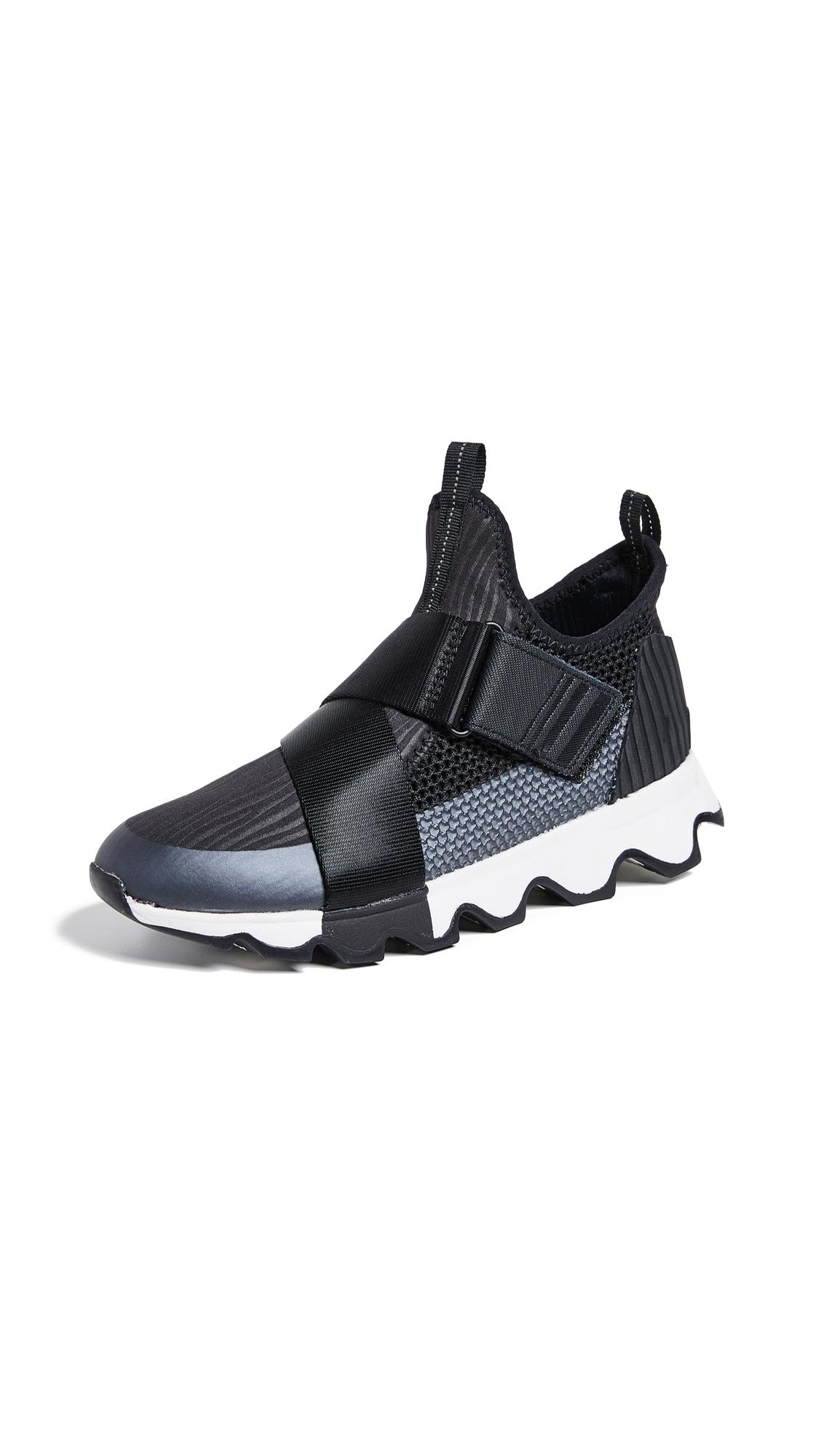 Sorel Kinetic Sneakers - Black/White