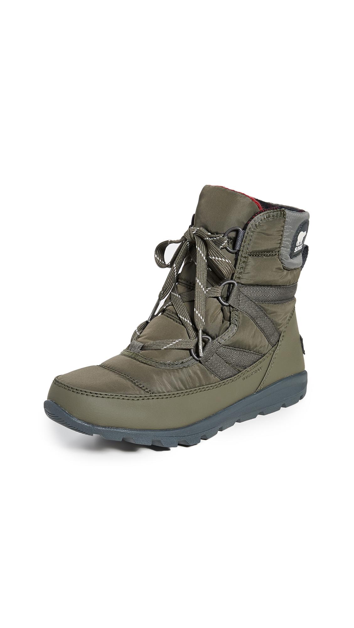 Buy Sorel online - photo of Sorel Whitney Short Lace Boots