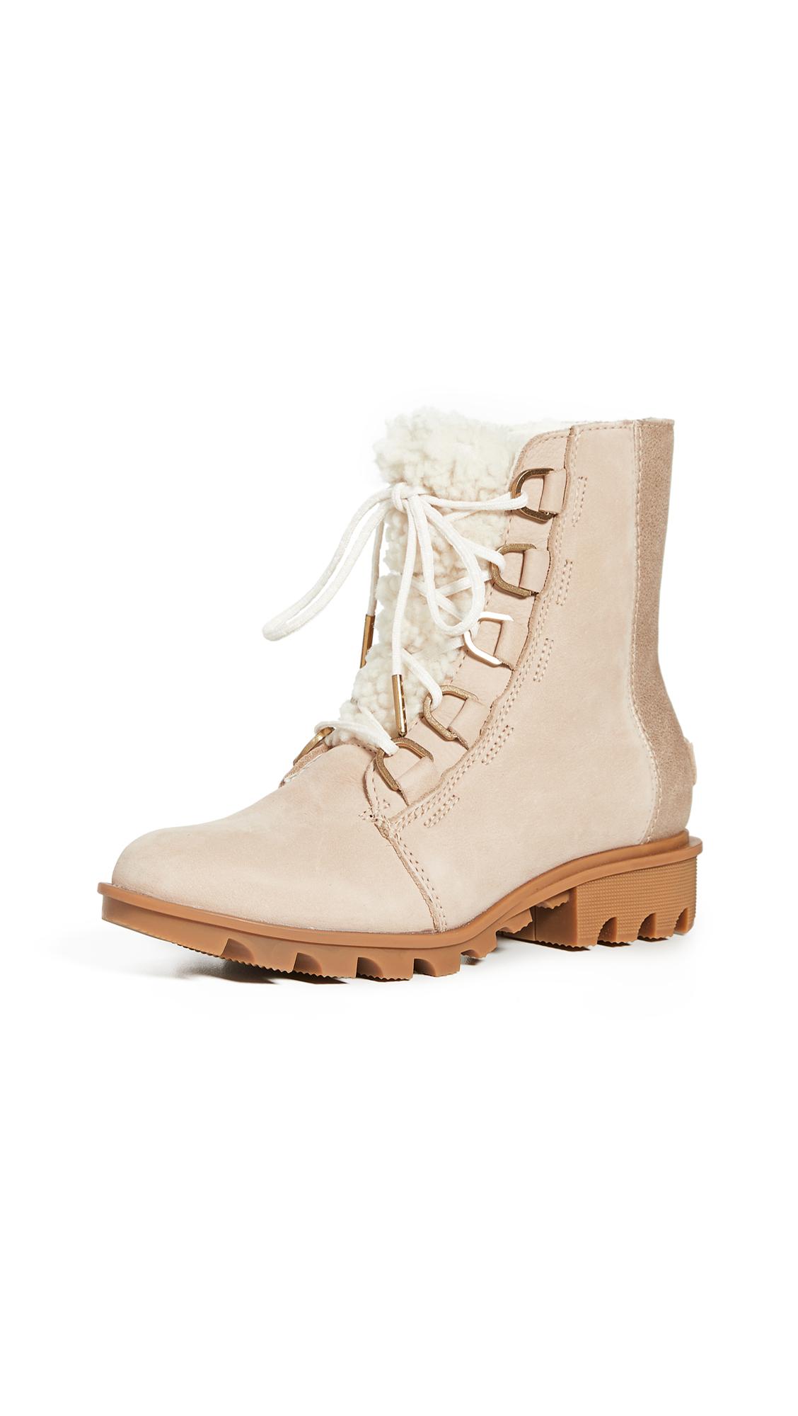 Buy Sorel online - photo of Sorel Phoenix Short Lace Up Luxe Boots