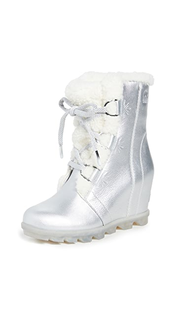 Sorel x Disney Joan of Arctic Wedge II Shearling Boots