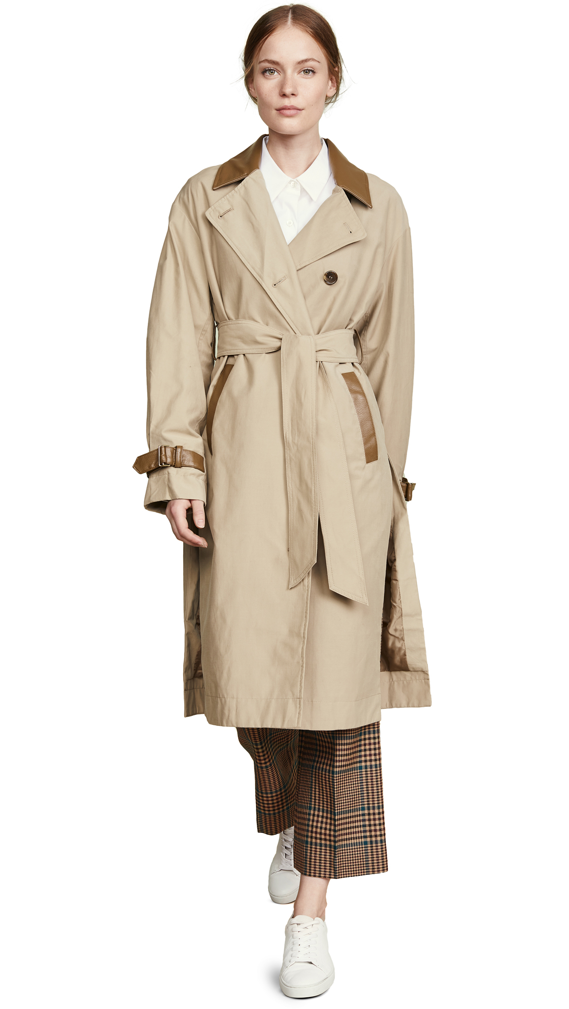 Sosken Grace Trench In Sand
