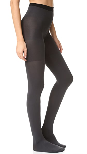 SPANX Reversible Tights - Black/Charcoal