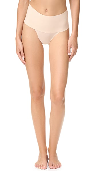 SPANX Undie -Tectable Thong In Soft Nude