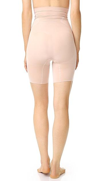 SPANX High Waist Mid Thigh Shorts