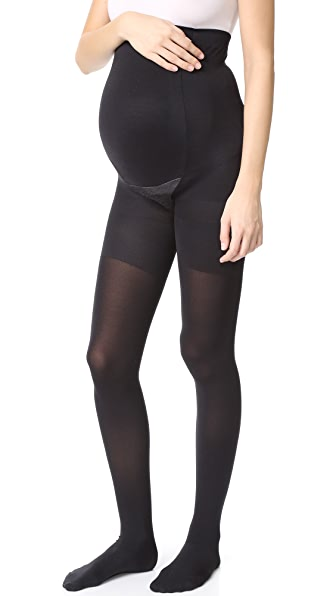 SPANX Mama Maternity Tights - Very Black