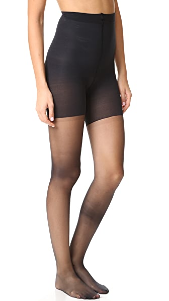 SPANX Luxe Leg Sheer Tights In Very Black