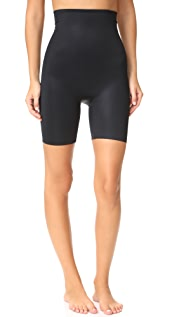 SPANX Power Conceal-Her High-Waisted Mid-Thigh Shorts