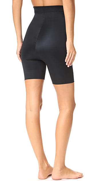 SPANX Power Conceal-Her High Waisted Mid Shorts