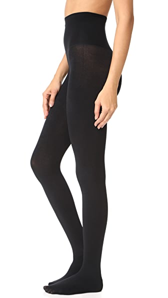 SPANX Plush Tights In Very Black