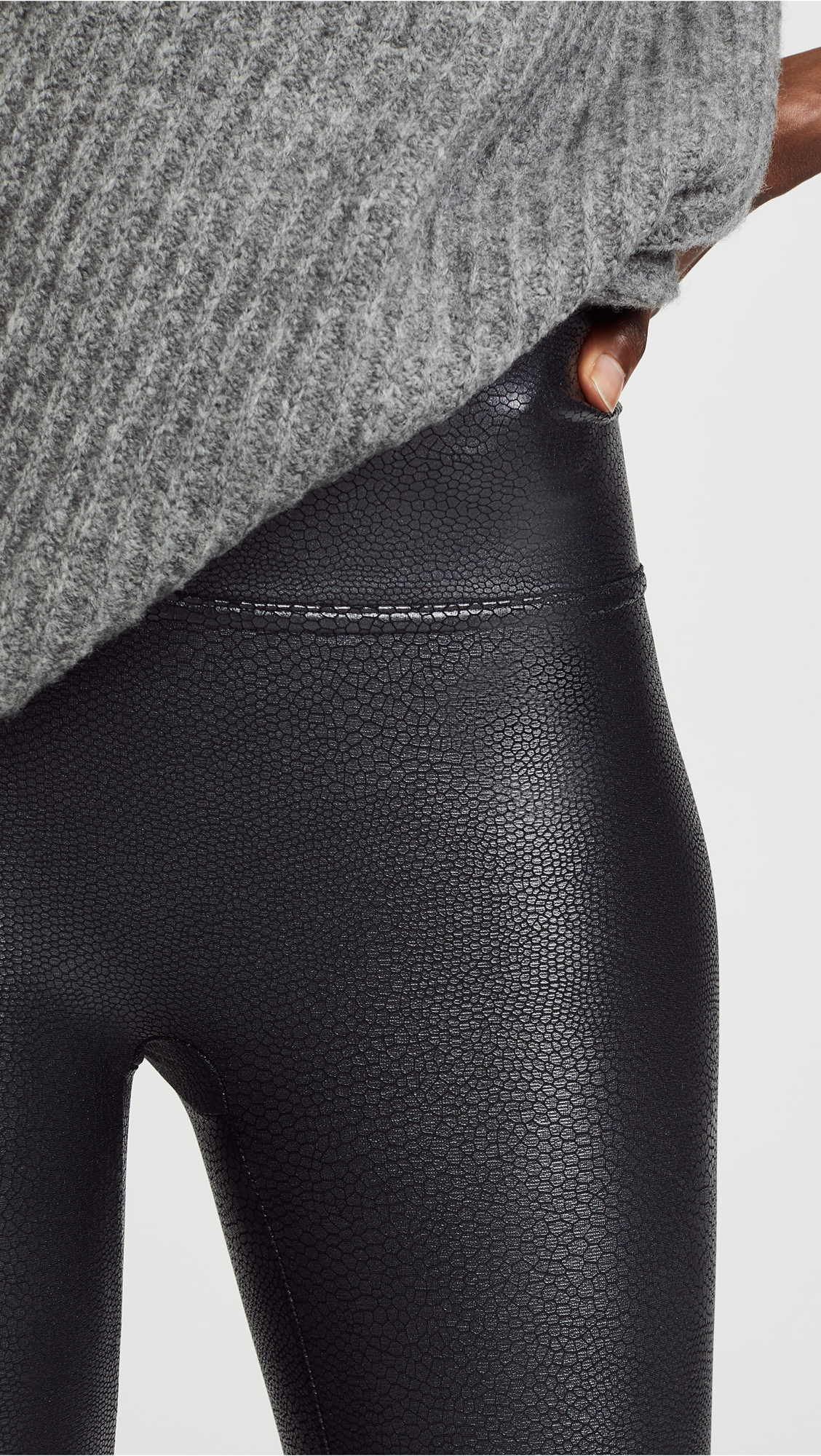 495dc5b0a8030d SPANX Faux Leather Pebbled Leggings | SHOPBOP