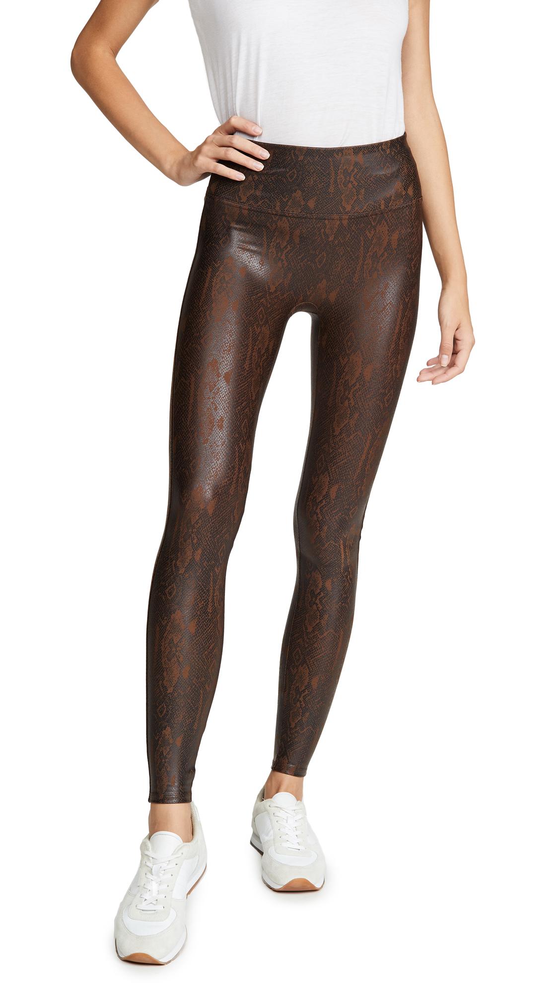 Buy SPANX online - photo of SPANX Faux Leather Snakeskin Leggings
