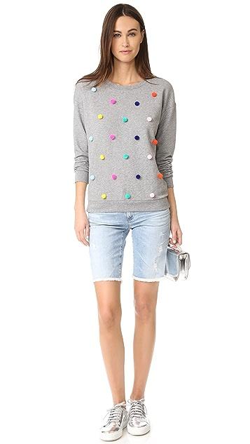 South Parade Allover Pom Pom Sweatshirt